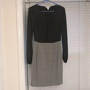 Classy knee length business dress.